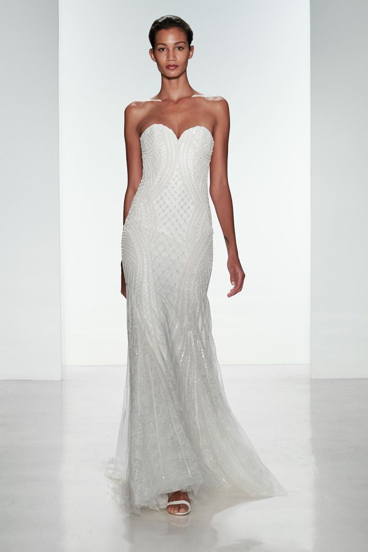 To see more gorgeous Kenneth Pool wedding dresses: http://www.modwedding.com/2014/11/17/kenneth-pool-wedding-dresses-with-ultimate-femininity/ #wedding #weddings #wedding_dress