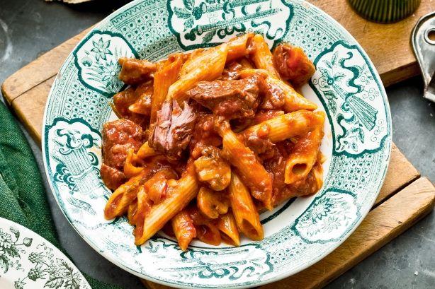 Mennyei húsos ragu, tésztával – leírhatatlanul fincsi és könnyű recept!
