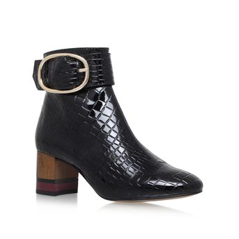 Ringo Black Mid Heel Ankle Boots from KG Kurt Geiger