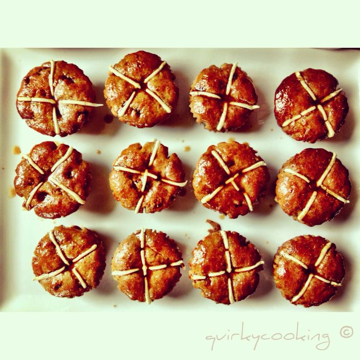 Quirky Cooking: Gluten Free & Dairy Free Hot Cross Buns