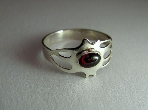 Neuron-idegsejt gyűrű, Ékszer, óra, Képzőművészet , Gyűrű, Meska