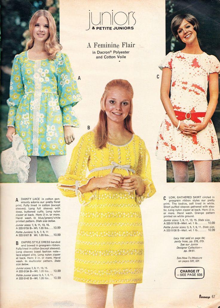 Flower power 60s dress style
