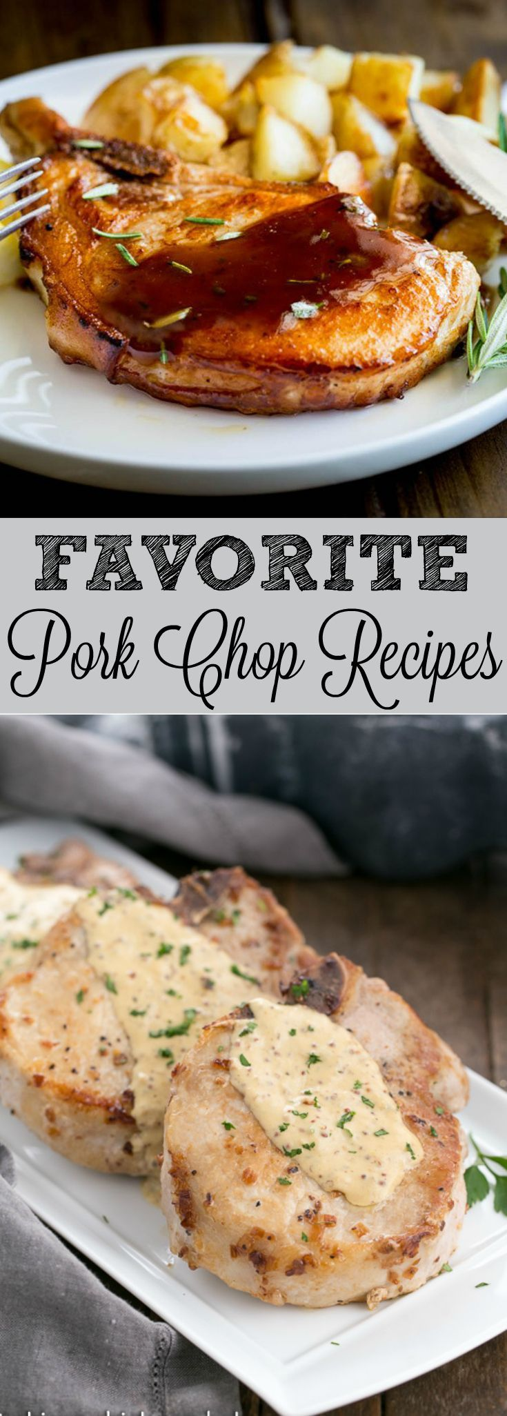 Sharing my favorite pork chop recipes from #SundaySupper line up from their Easy Pork Chop Recipe event. Which one will be your favorite?