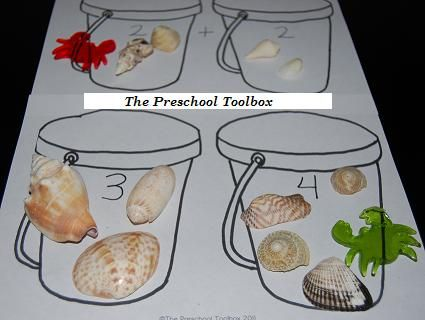 ocean life activities for preschoolers | Beach Theme Activities for Preschool! | The Preschool Toolbox Blog