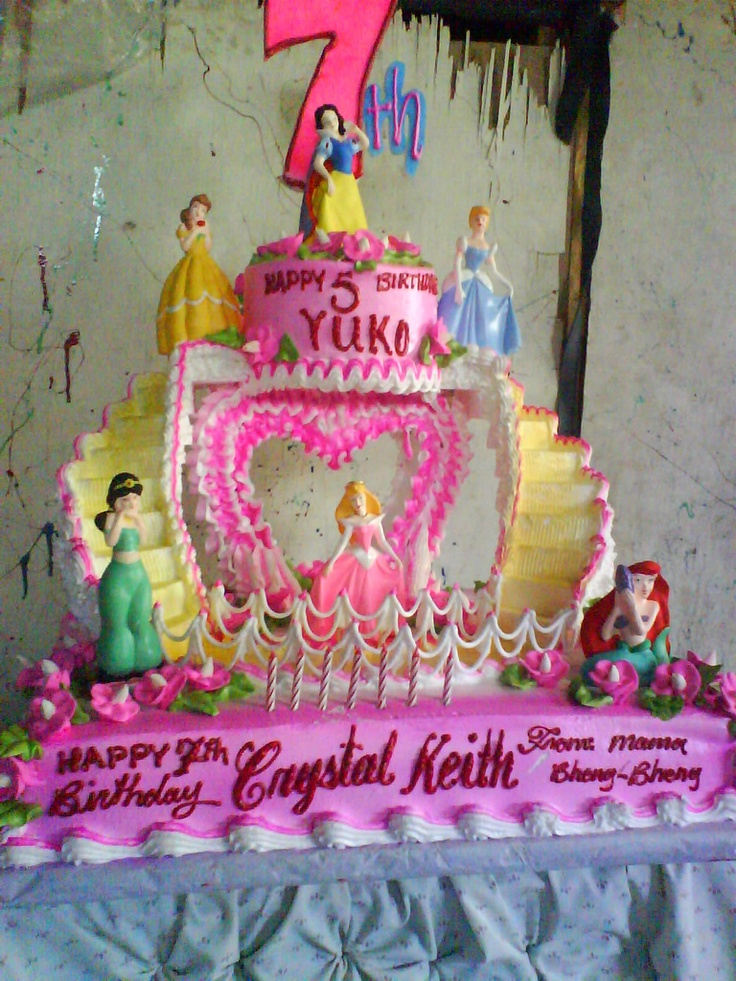Cinderella Castle As A Birthday Cake