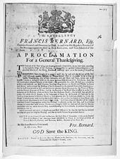 Sir Francis Bernard, 1st Baronet - Wikipedia