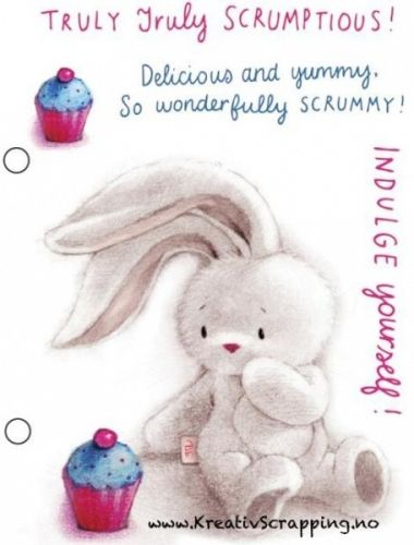CRAFTERS COMPANION - BEBUNNI - TRULY SCRUMPTIOUS Finner dem her:  http://www.kreativscrapping.no/products/crafters-companion-bebunni-truly-scrumptious