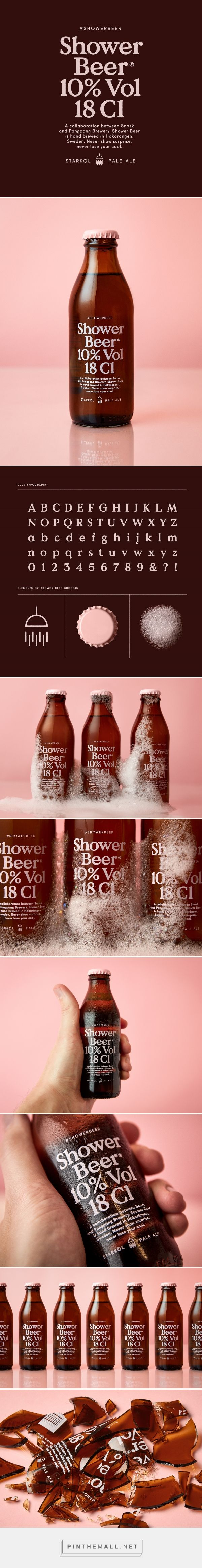 Shower Beer on Behance - created via https://pinthemall.net