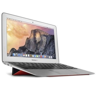 BaseLift: Prevent neck issues from overuse by elevating your MacBook on the go. Protect your thighs from the temperatures of MacBook, or raise the angel when used on a desk