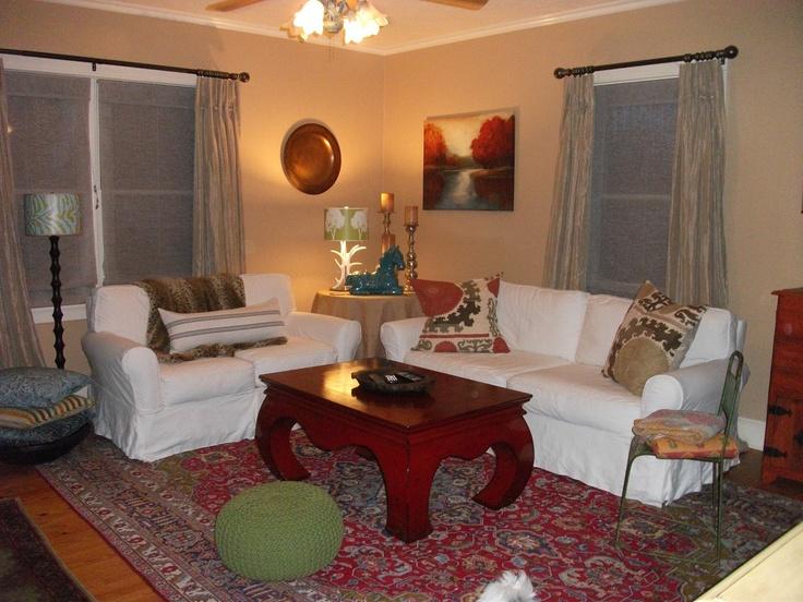 Farmhouse living room home pinterest for Living room pinterest
