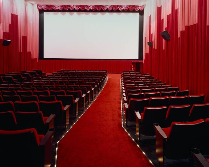 I prefer spending my weekends at a movie theatre