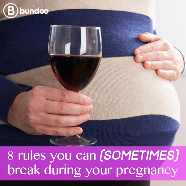 """Feeling like a pregnant rebel? Dr. Jen shares 8 pregnancy """"rules"""" you can break every once in a while."""