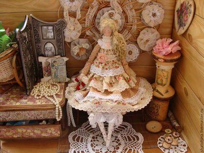 """Куклы Тильды ручной работы. Заказать """"Нежные краски осени"""" -куколка оберег счастья и здоровья (Тильда). моя сказка. Ярмарка Мастеров."""