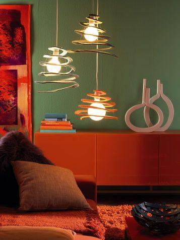 Lampada fai da te: idee design. Diy Light