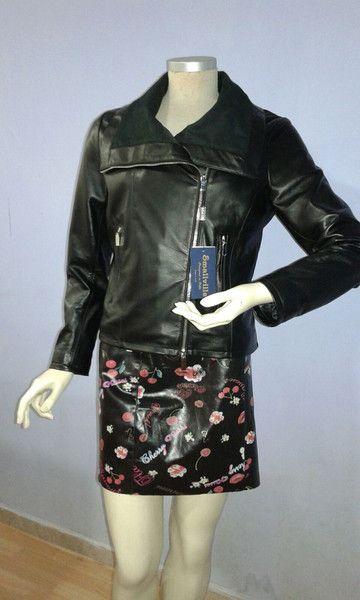 Giacche corte - giacca vera pelle donna - un prodotto unico di Smallville2 su DaWanda