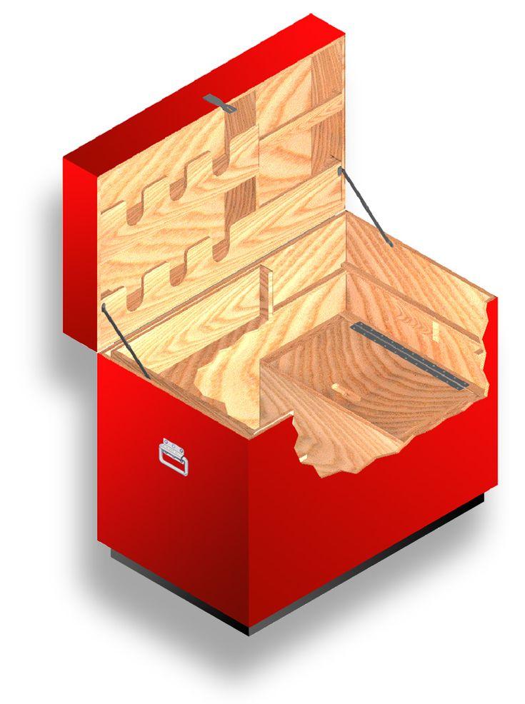 12 best images about horse tack trunk on pinterest set for Tack cabinet plans