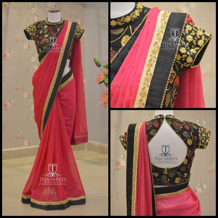 TS-SR-360Available For orders/querieswhatu2019s app us on8341382382 orCall us @8790382382Mail us tejasarees@yahoo.com LikeNeverBefore Tejasarees Newdesigns icreate sarees tejupavuluri hyd tejaethnicstudio sareelove chiffons 04 March 2017