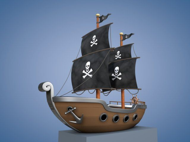 Animated pirate ships - photo#14