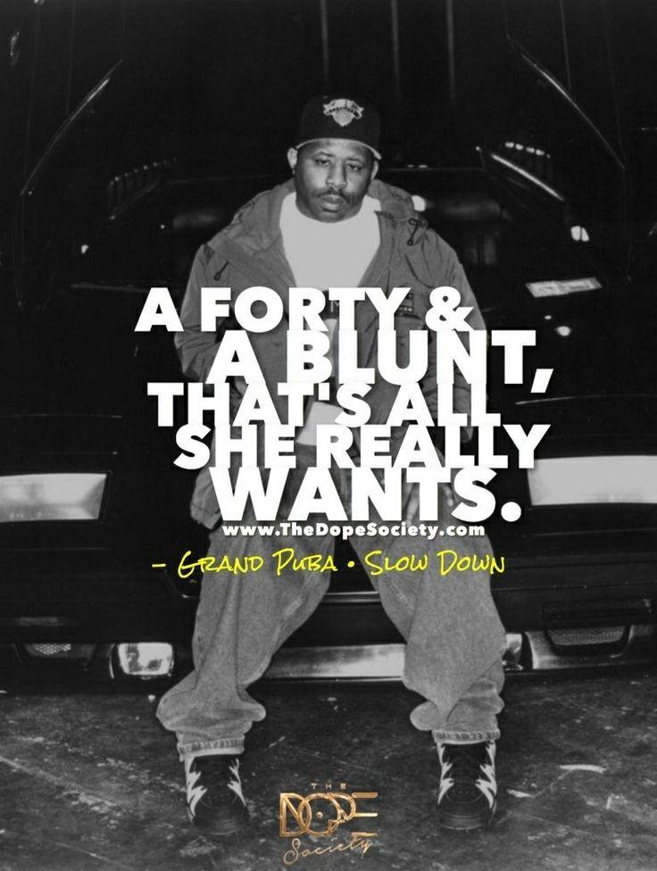 Grand Puba Rap quotes, Hip hop quotes, Rap beats