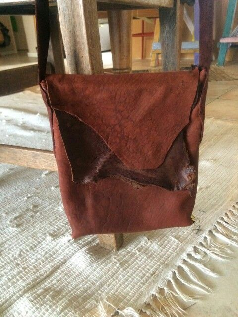 Lenua designs brown leather bag