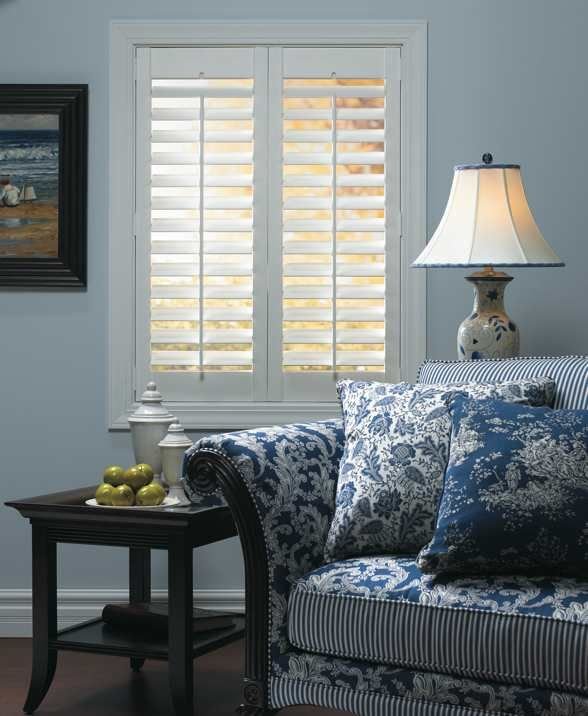 Graber direct mount shutters