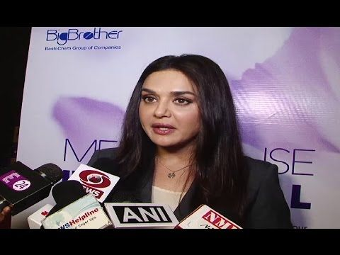 Preity Zinta Launches Nutraceuticals Product For Menopausal Women.