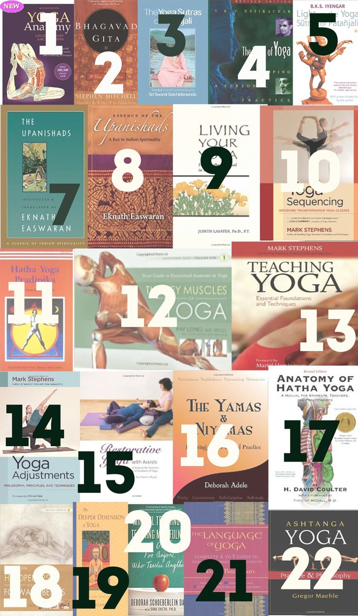 Pin now, browse later! 22 essentials for yoga teachers.