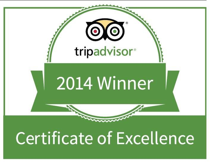 Leopard Mountain would like to thank our guests for rating us as one of the best on Tripadvisor. This makes it 2 years in a row that we are receiving a Certificate of Excellence! Thank you.