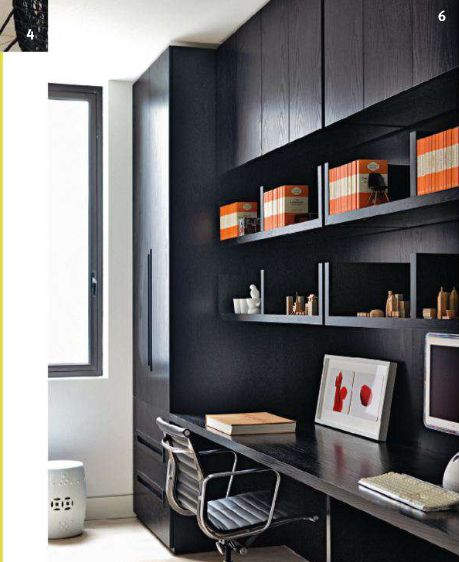 love the design of the bookshelves