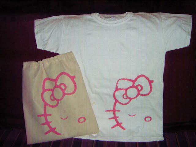 remera lista para regalar kitty