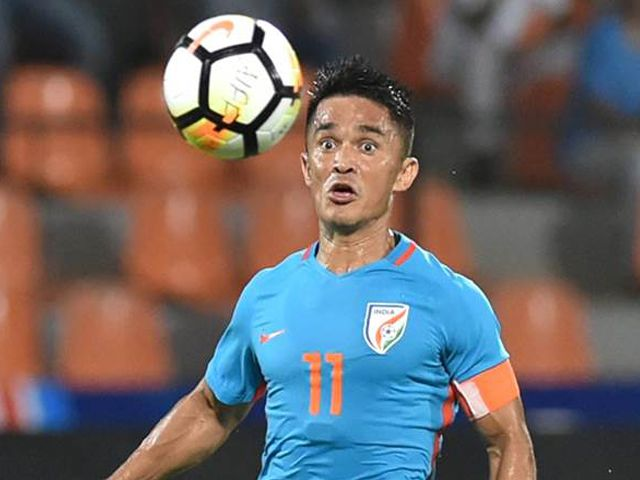 Professional Indian Footballer Sunil Chhetri Pictures And Images Sunil Chhetri Who Plays As A Striker For Indian Club Beng Sunil Chhetri Football Indian Clubs