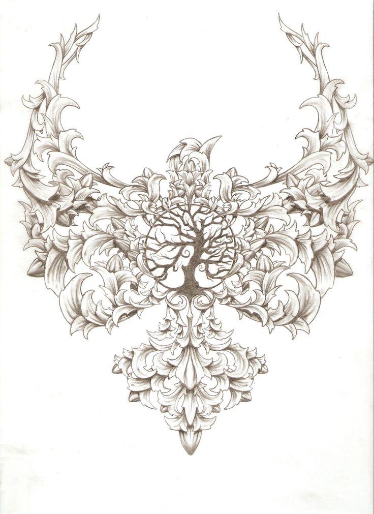 Tree Of Life Tattoo design | by TonyClucas