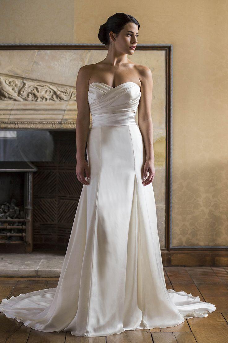 149 best Augusta Jones images on Pinterest | Short wedding gowns ...