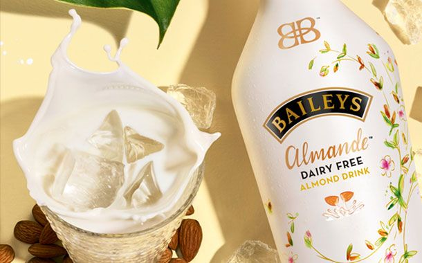 Diageo releases dairy-free Baileys made from almond milk
