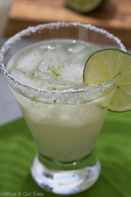 Classic 3-2-1 Margarita. Once you know this ratio, you can make margaritas for 1 or 100!