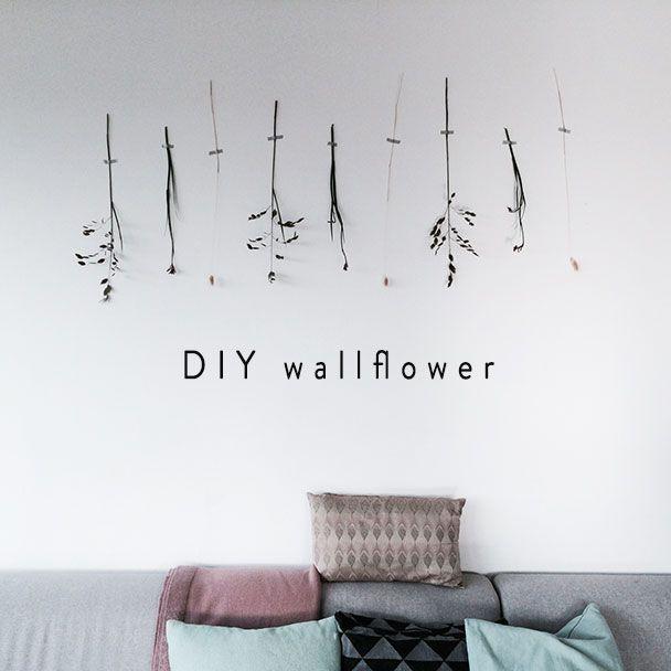 Wonen | DIY wallflowers