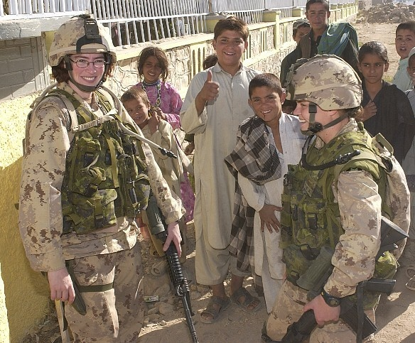 Female Canadian Soldiers