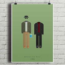 Breaking Bad - plakat, minimalmill