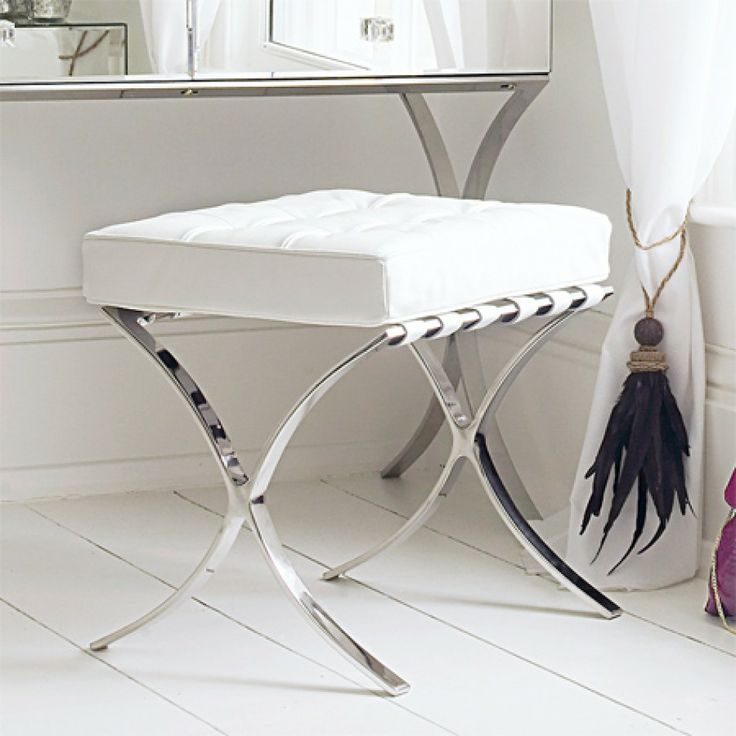 Barcelona Dressing Table Stool : bedroom stools and chairs - islam-shia.org