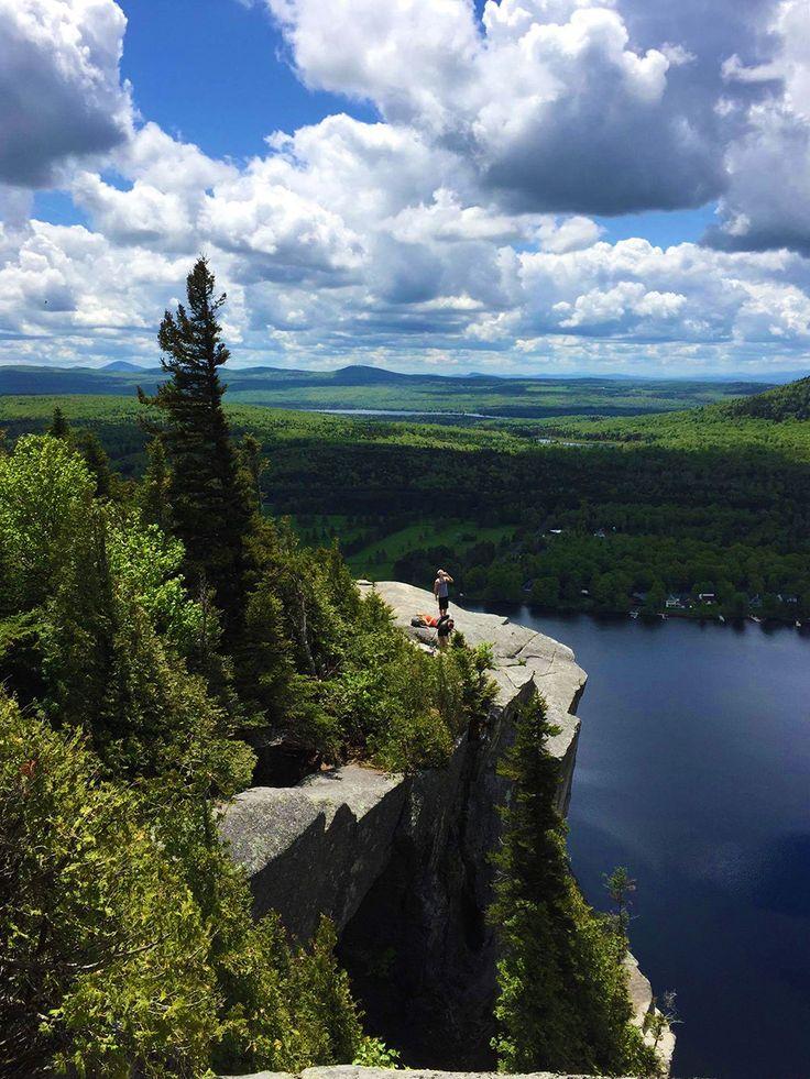 Le lac Lyster vu du mont Pinacle Crédit photo : C. Saint-Jean