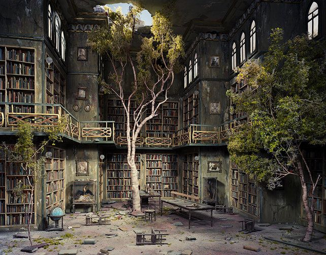 Haunting Dioramas Of A Post-Apocalyptic World