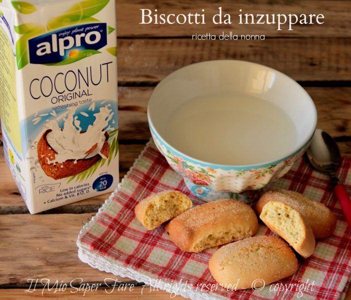 Biscotti da inzuppare nel latte ricetta il mio saper fare
