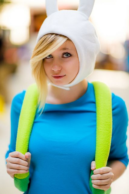 Fionna (from Adventure Time | AWA 2013 #cosplay