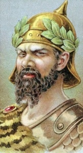 """Atilla the Hun: """"... In 441 Attila's Huns attacked the Eastern Roman Empire. The success of this invasion emboldened Attila to continue his westward expansion. Passing unhindered through Austria and Germany, Attila plundered and devastated all in his path"""" - http://ancienthistory.about.com/cs/attilathehun/a/attilathehun.htm"""