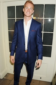 Greg Rutherford is a member of the Blue Suit of Seduction club (along with Benny and Hiddles). :)