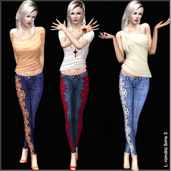 1000 Images About The Sims 3 Clothing Female On Pinterest