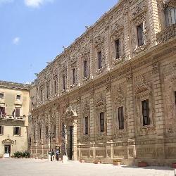 Lecce, il Palazzo dei Celestini