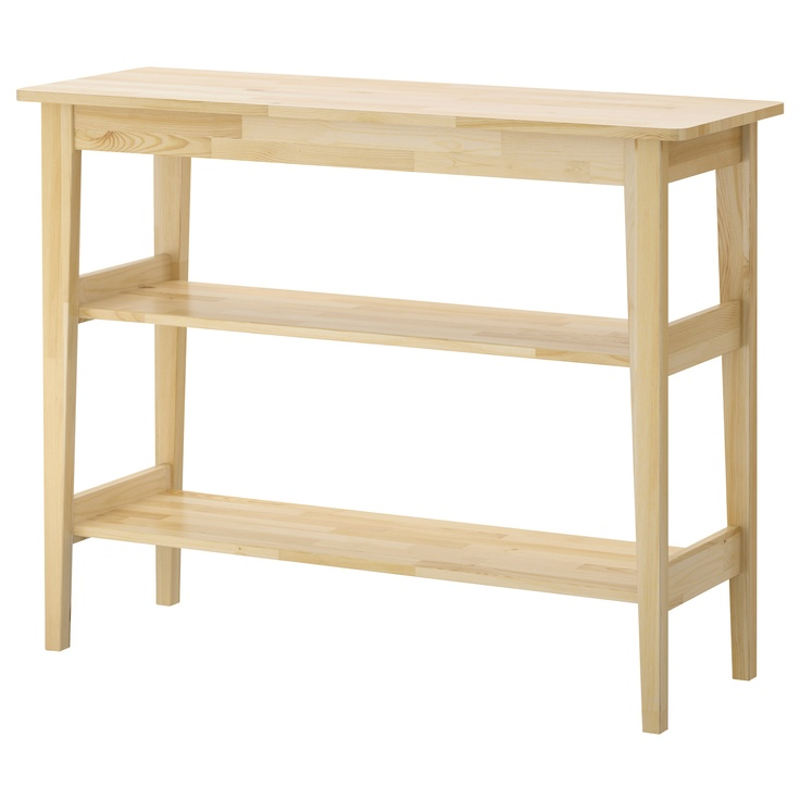 Svalbo sideboard ikea maybe for garage or patio for Ikea hall table