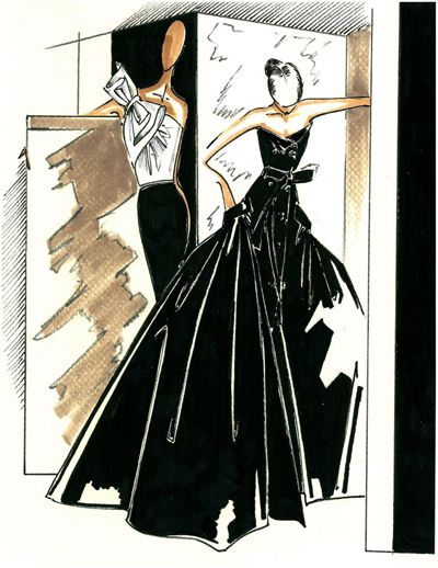 """Le collezioni """"da sera"""" dei grandi stilisti causano sempre eccitazione e, siccome Carolina Herrera è riconosciuta a livello internazionale oltre che per il design per la sua eleganza, la presentazione della sua nuova collezione Night è diventata un evento."""