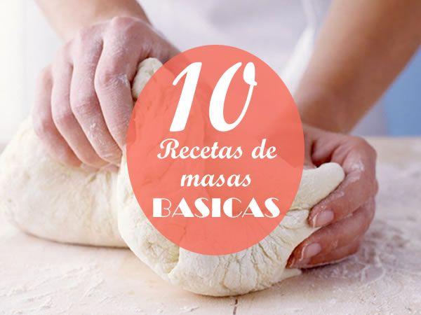 recetas de masas básicas